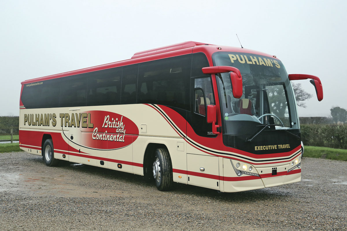 12.8m Plaxton Panther 3 Executive Volvo B8R - Bus & Coach ...