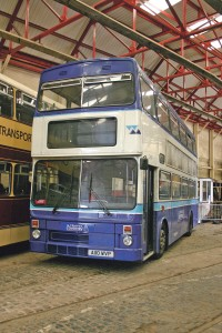 Safely inside the original Aston Manor premises after collection from National Express in 2005.