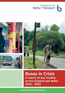 The Campaign for Better Transport's 'Buses in Crisis' report gave an insight into how some services are struggling due to lack of funding.