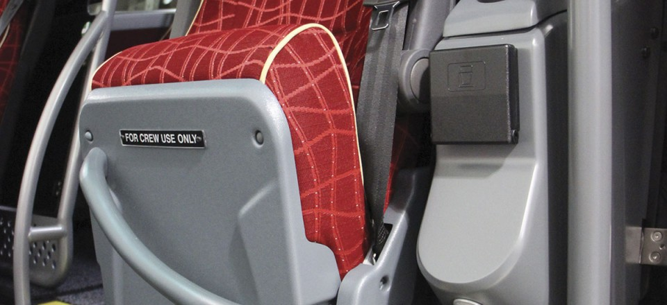 The courier seat