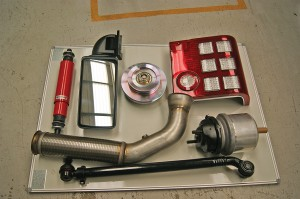 A small selection of parts supplied by Moseley PCV.
