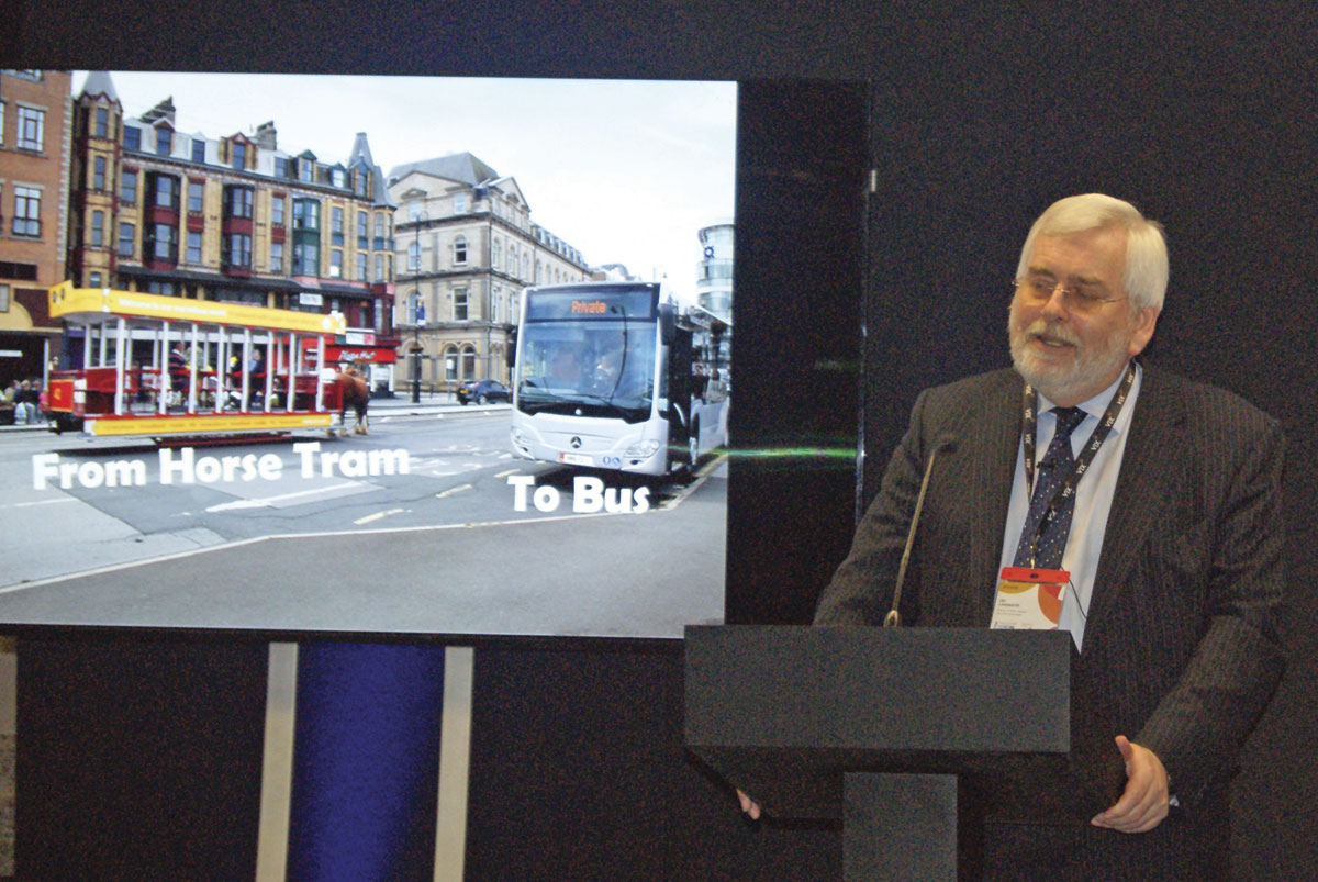 Director of Public Transport for the Isle of Man, Ian Longworth
