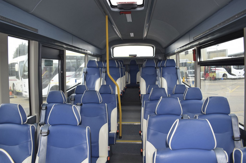 Phoenix Blenheim seats in the Nu-Track Nu-Vibe