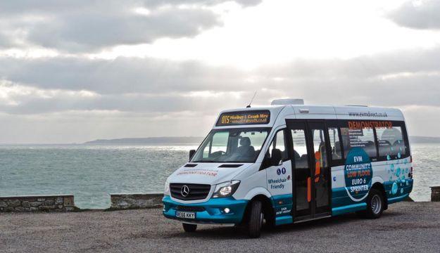 Stephensons trials minibuses