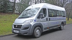 New accessible minibus from Advanced KFS