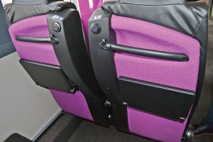 The Glasgow Express shuttle service from the city's airport offer leather seating, USB charging points, flip down tables and bag hooks. The service also offers Audio visual announcements.