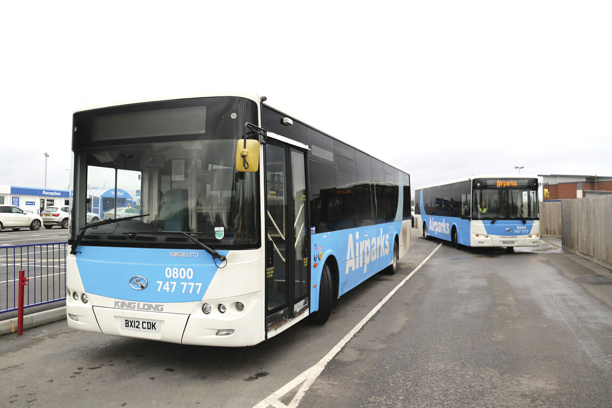 A repeat order from Airparks will see three more B12s delivered similar to this XMQ6127 operating from Birmingham Airport
