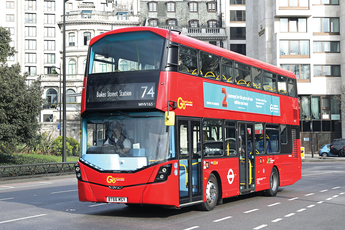 mayor launches low emission bus zone bus coach buyer. Black Bedroom Furniture Sets. Home Design Ideas