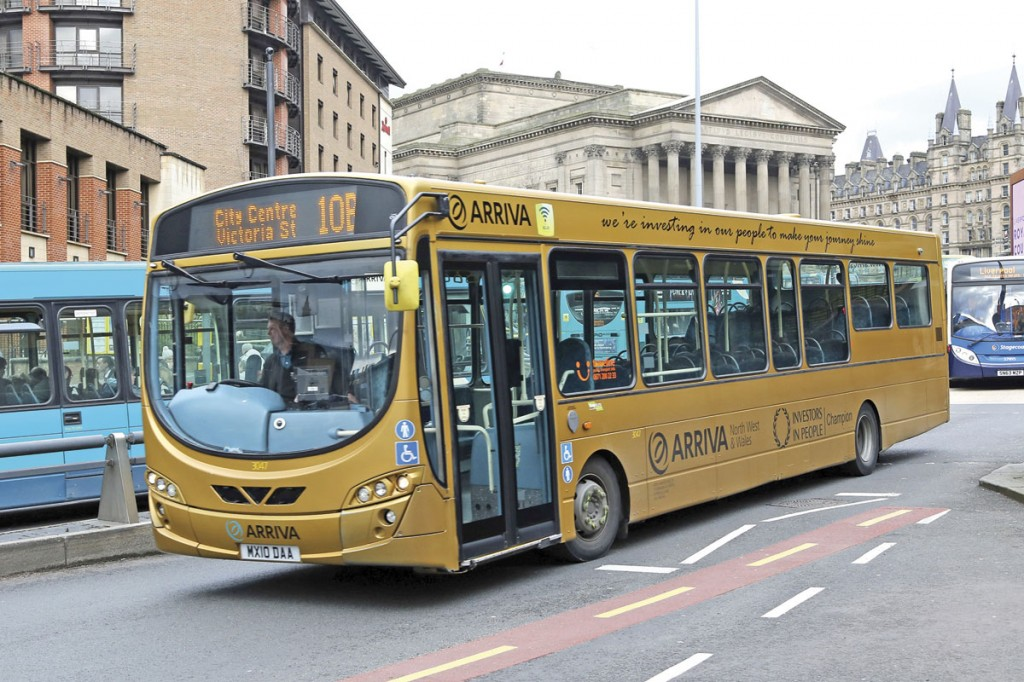 Gold on Merseyside, Arriva Wrightbus VDL celebrating the award of Investors in People Gold status