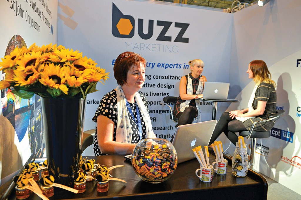 LtoR The team at Buzz Marketing, Paula Middleton, Claire Rawlinson and Hannah Connick.