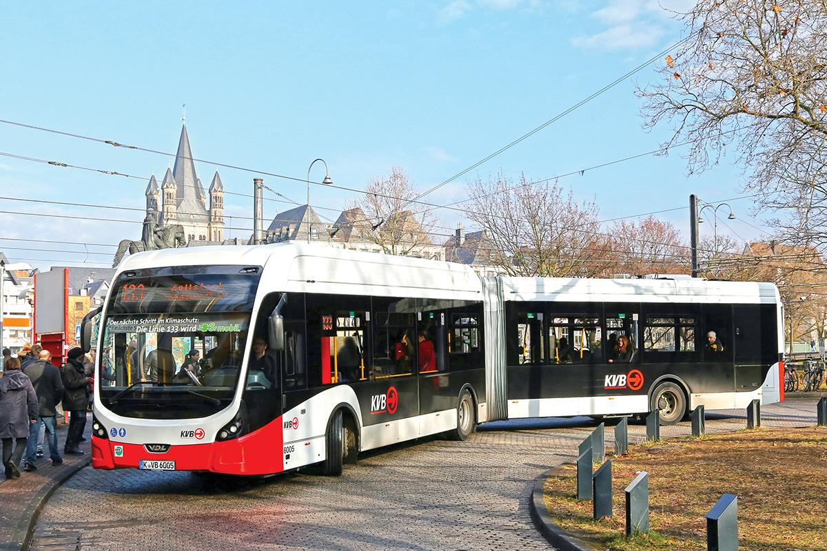 Bus 133 Köln