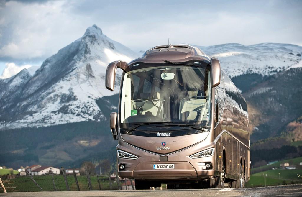 Scania Irizar i8 coach.