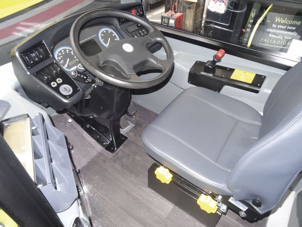 The opinion of drivers was just as important to the ADL and BTSL team as that of the management and engineering department. For example, the cab door was altered and the seat from Chapman Driver Seating was tested for comfort.