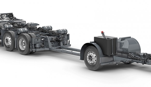 Volvo goes global with B8