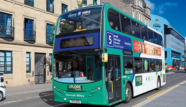 £3m for Scottish green buses