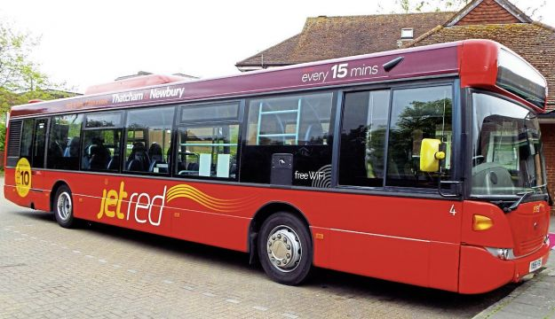 'jet red' launched