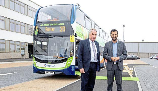 ADL hybrids for Stagecoach East Scotland