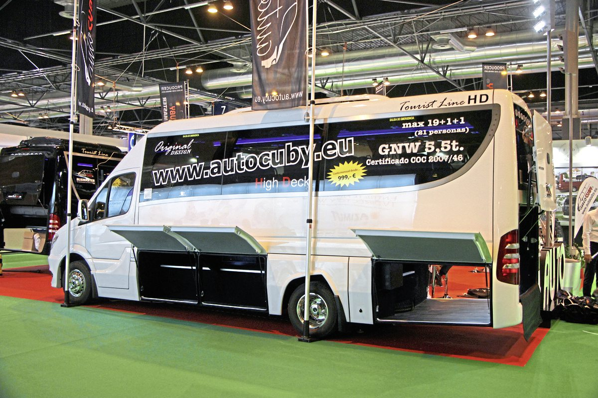 AutoCuby's high line Sprinter