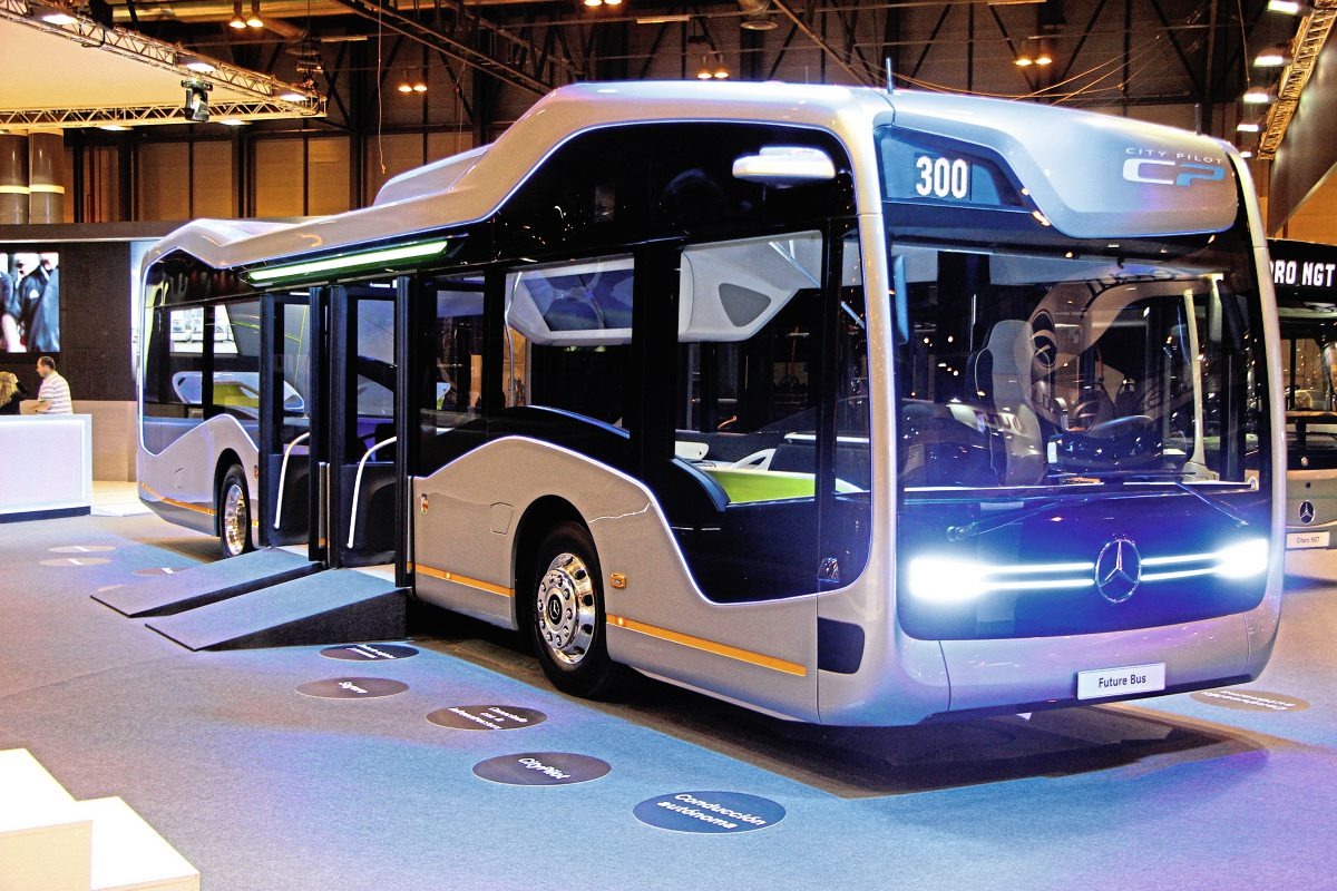 Daimler's Bus of the Future