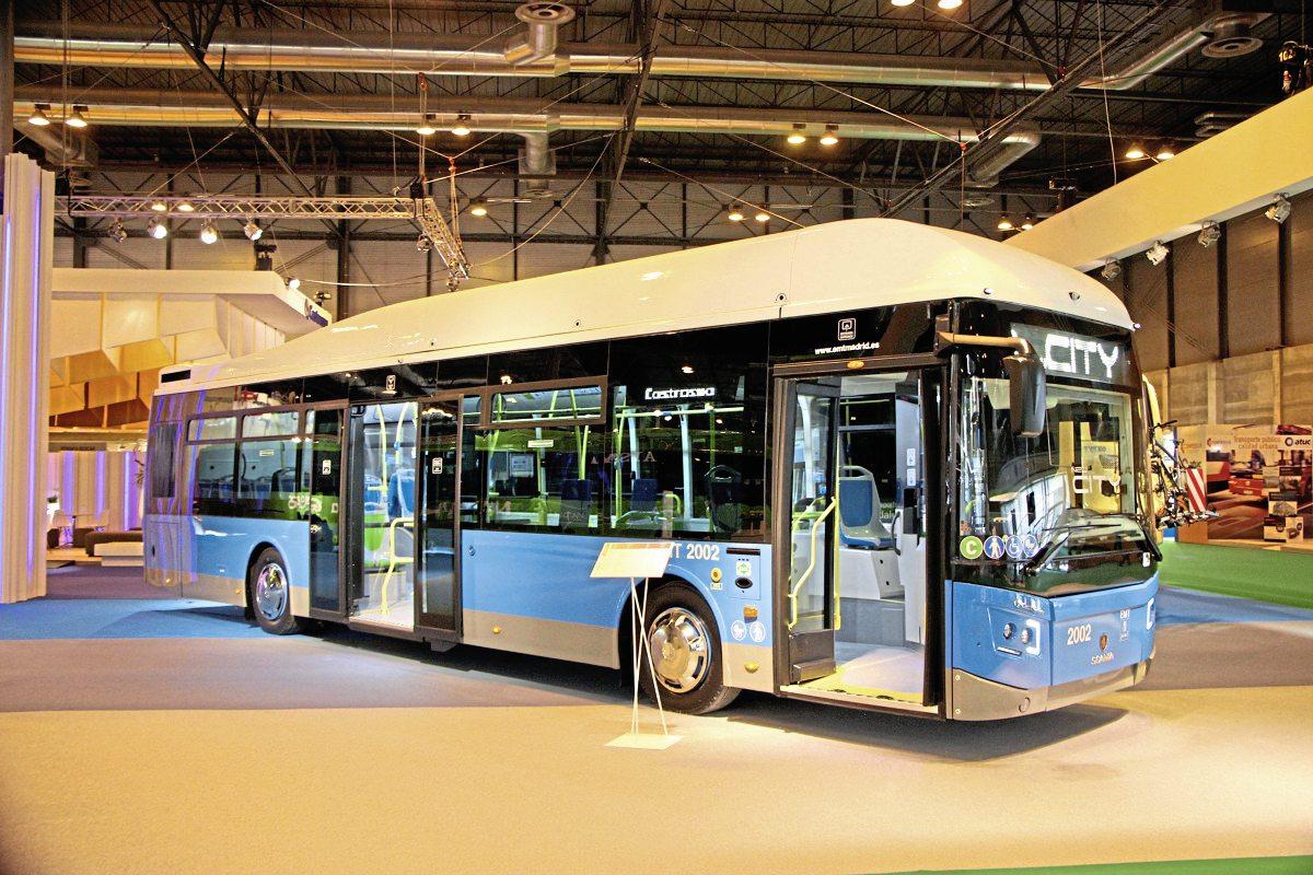 Castrosua new City Scania CNG bus.