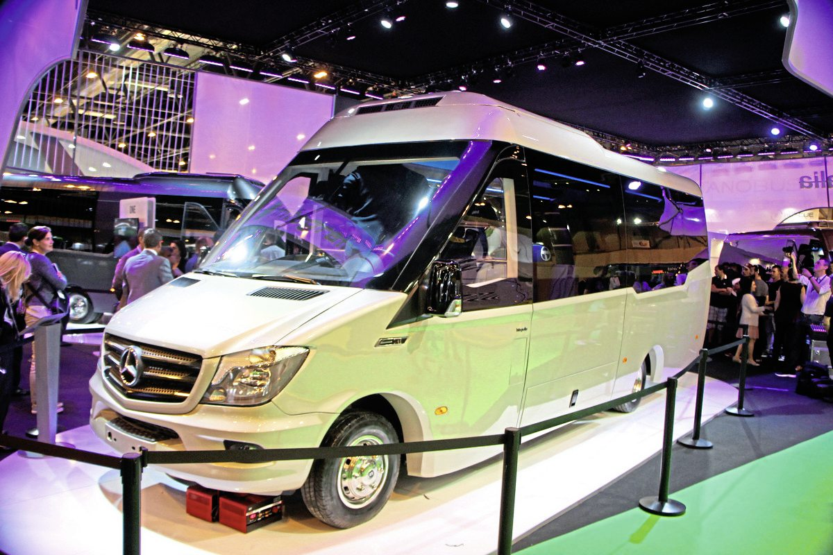 Integralia's 25 seat One Sprinter