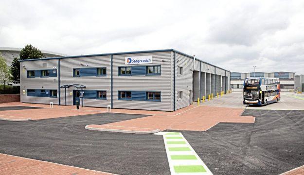 New £5m Stagecoach Midlands depot