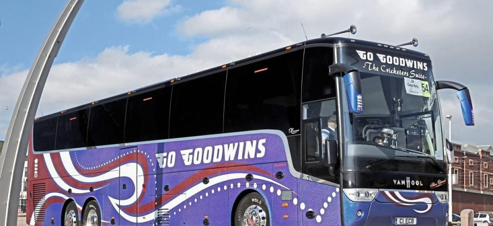 Top Executive Coach-Go Goodwins Van Hool Astronef