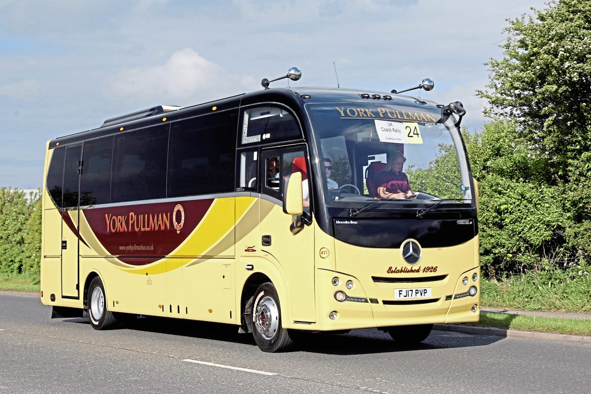 Top Mini-Midi Coach-York Pullman Plaxton Cheetah Mercedes-Benz