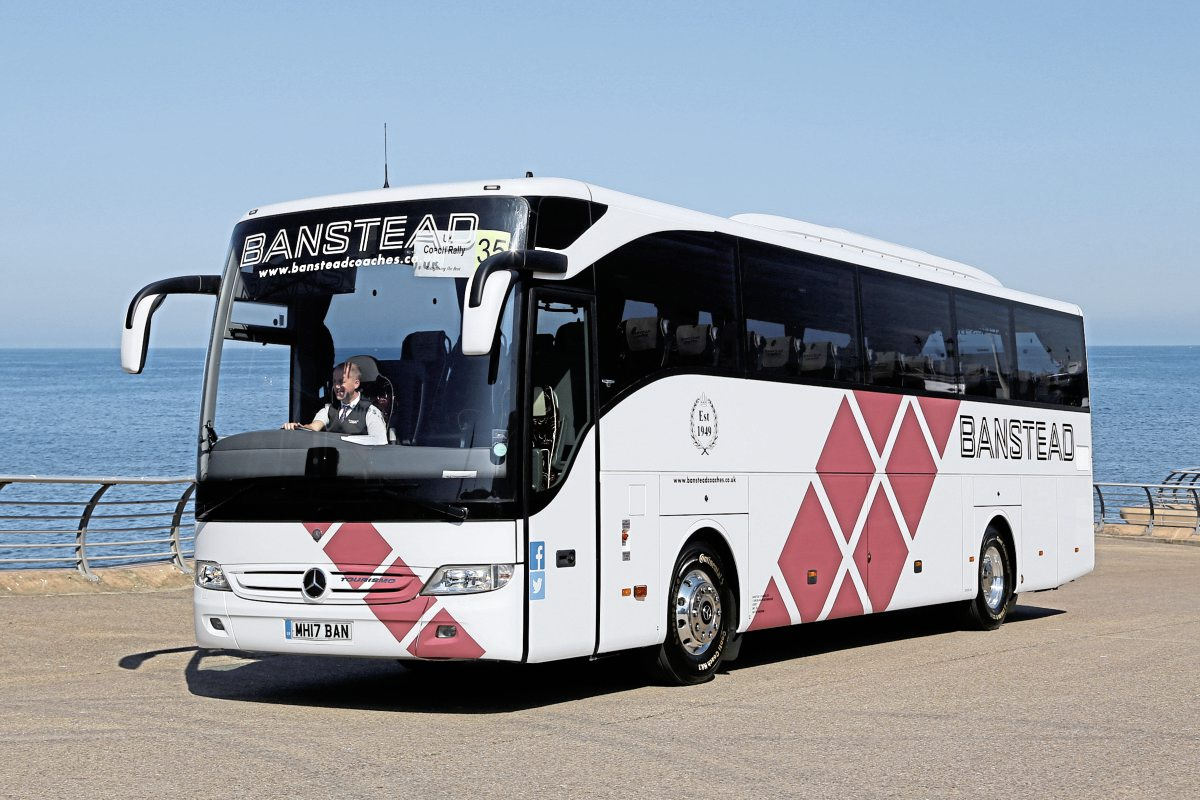 Top Standard Coach-Banstead Coaches Mercedes-Benz Tourismo