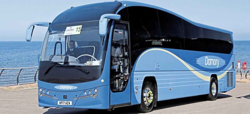 Top Touring-Express Luxury Coach-Damory Plaxton Elite Volvo