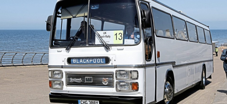 Top coach twenty five years or older, Bradshaws Travel