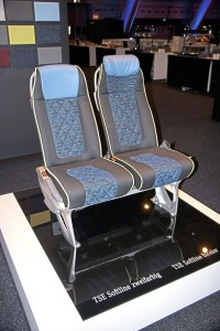 Examples of the seating options were shown. This is the TSE Softline