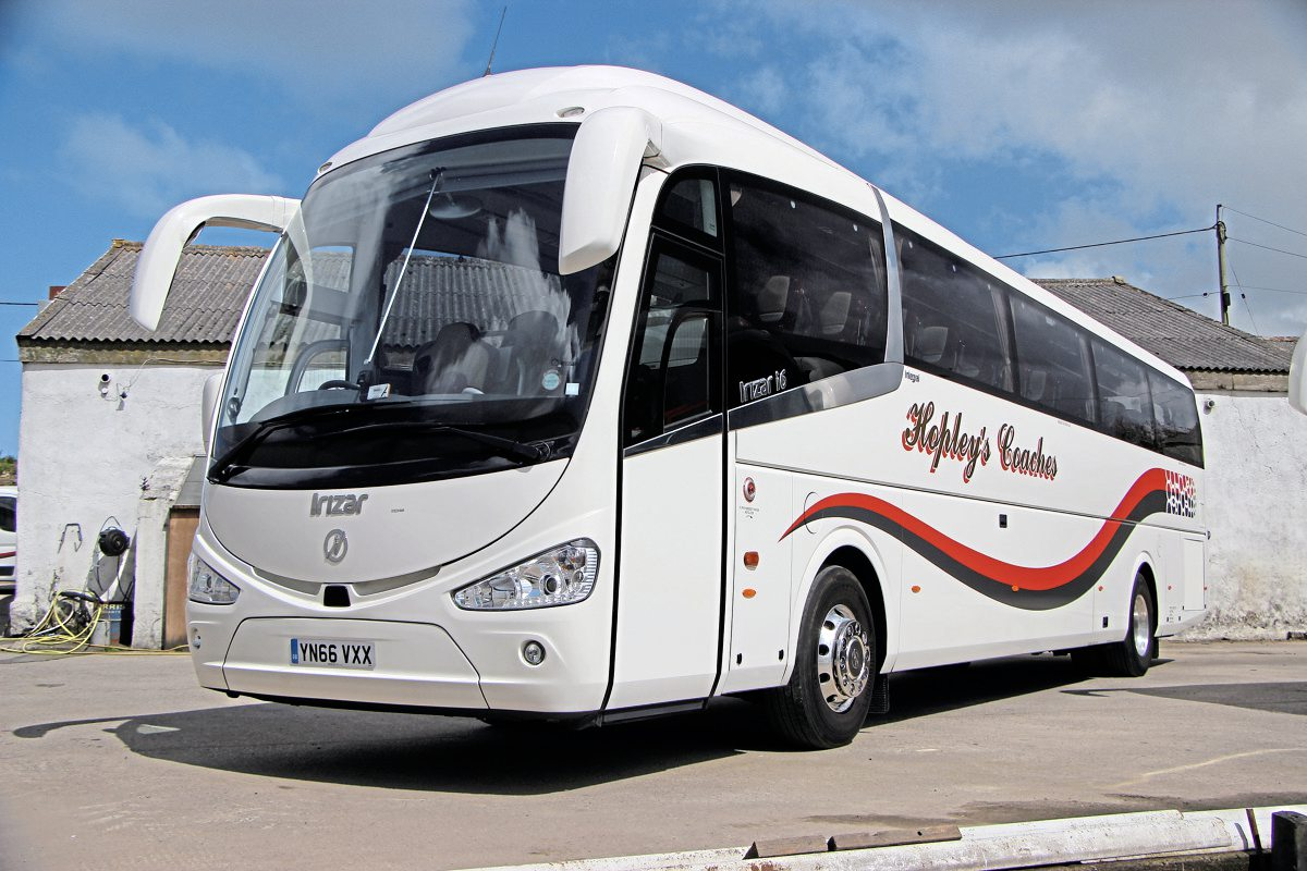 New this year was the second of two Irizar i6 integrals