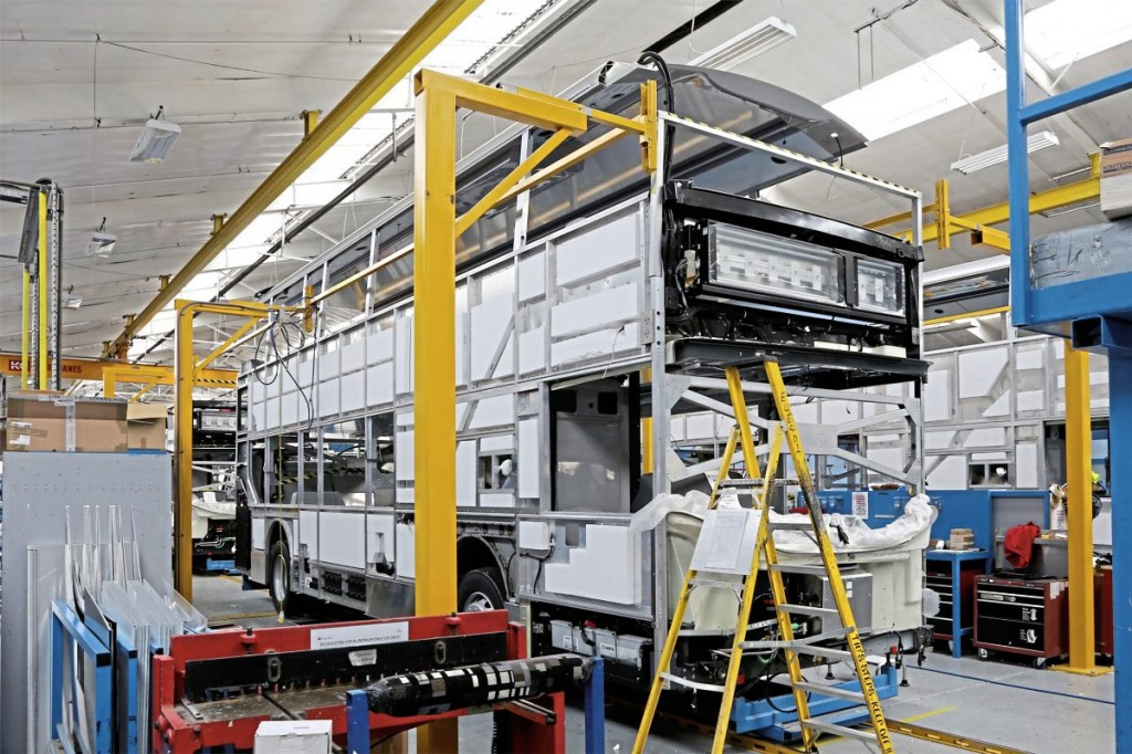 The Enviro400 production line