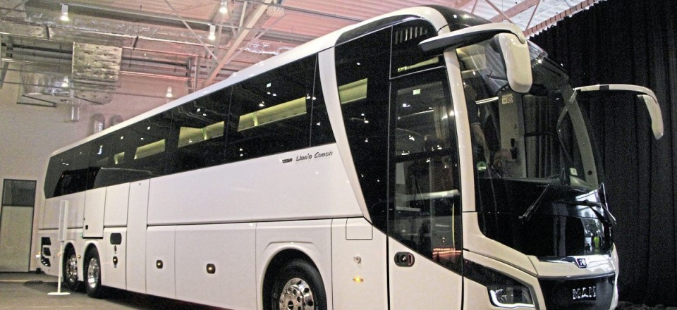 Busworld at Kortrijk will be the first public outing for the new generation MAN Lion's Coach