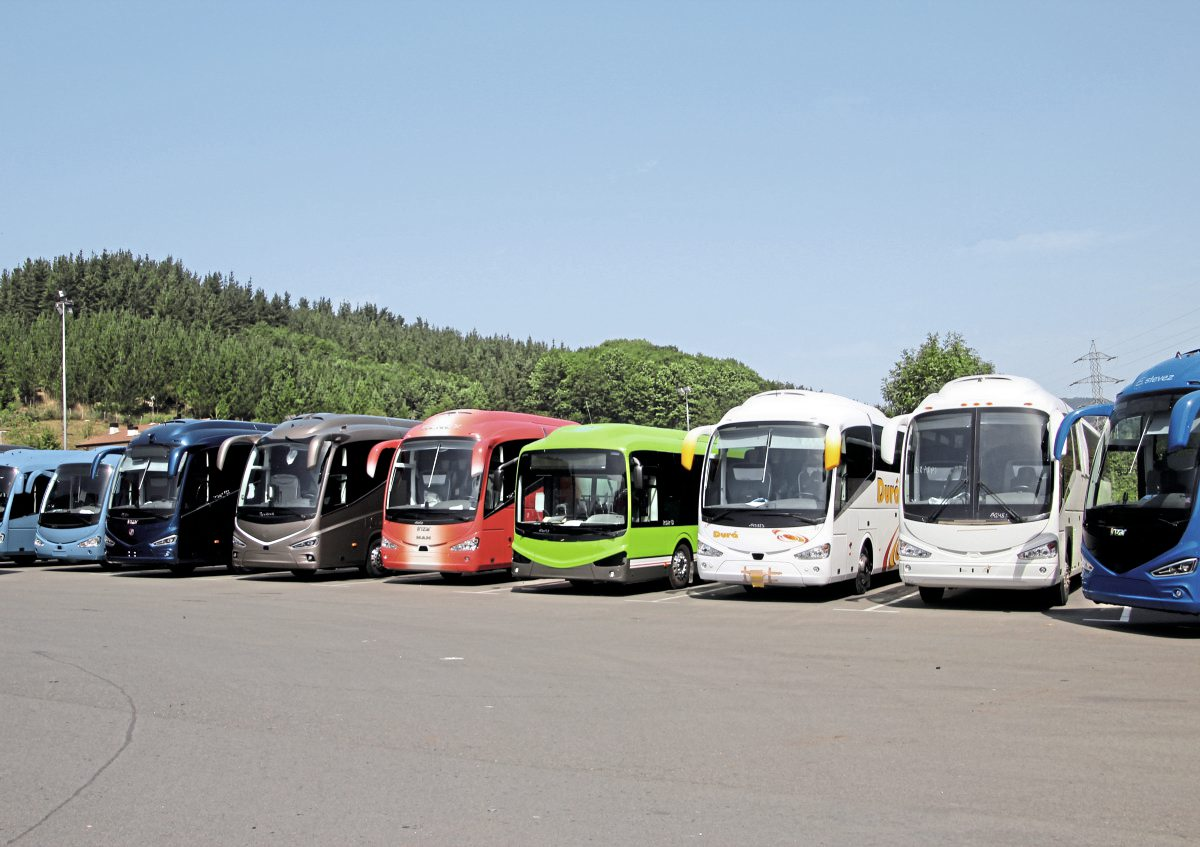 Demonstrating the breadth of the current Irizar range.