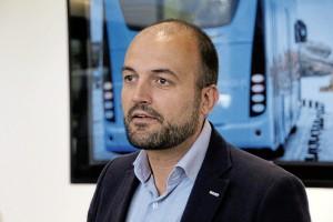 Hector Olabegogeaskoetxea, MD of Irizar e-mobility.
