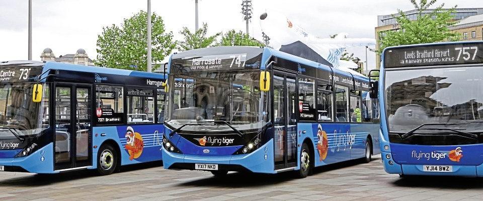On display in Bradford's centenary square