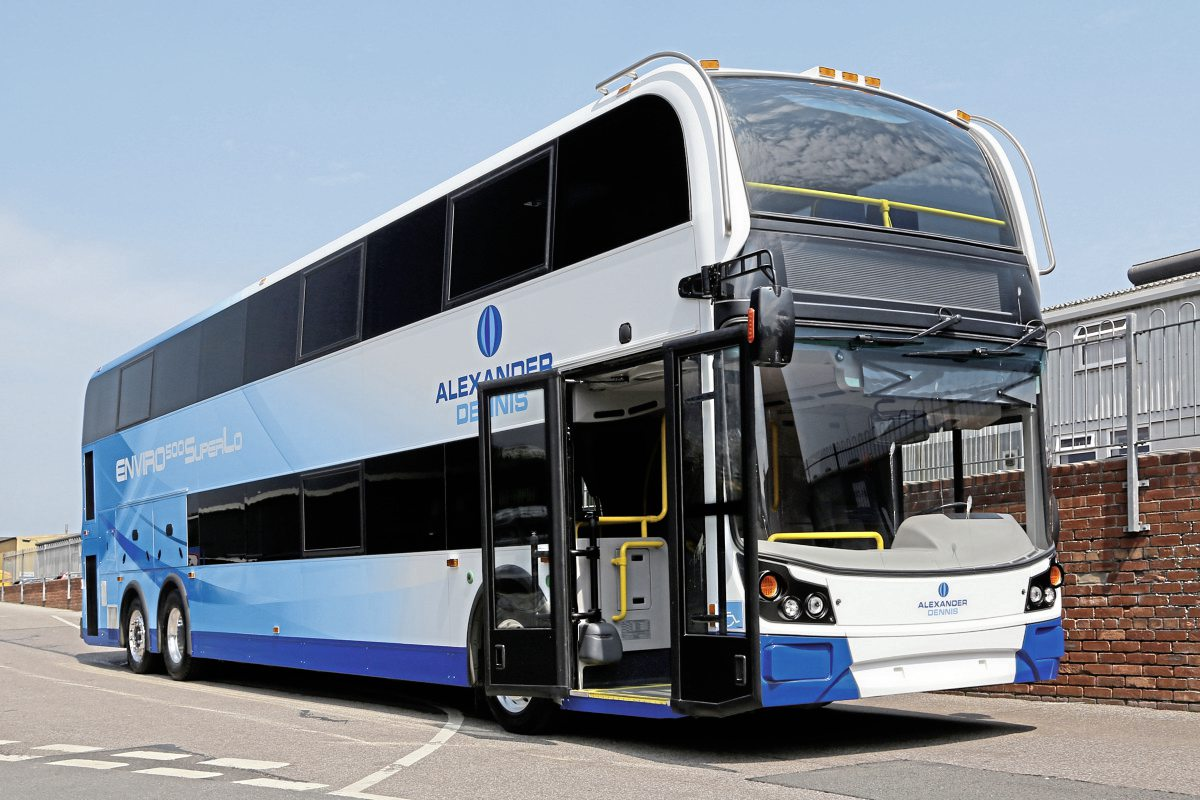 The Enviro500 SuperLo prototype for the US market