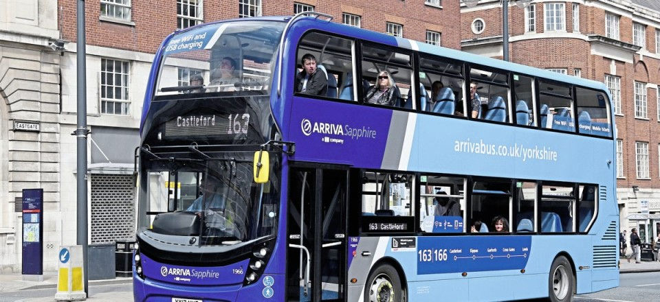 The new ADL Enviro400 MMCs are to both Arriva standard and Sapphire specifications, one of the latter is seen in Leeds