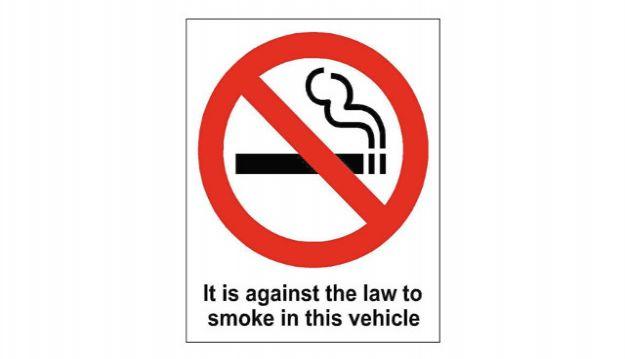 'No Smoking' sign crack-down in Canterbury