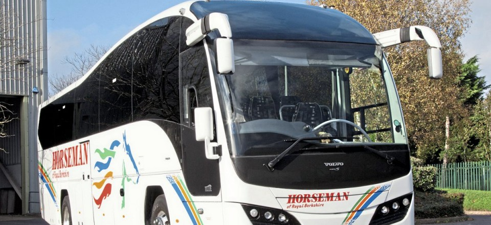 A rare secondhand addition to the fleet was this 2012 Plaxton Elite