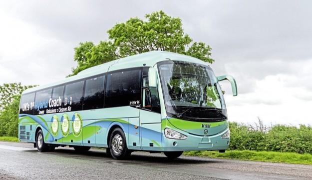 Irizar hybrid coach launches in UK
