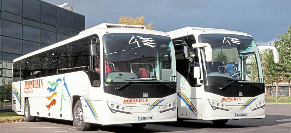 The 2015 Plaxton Volvo deliveries consisted of five Leopards and three Panthers