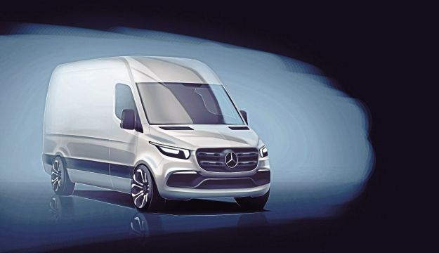 New Sprinter previewed