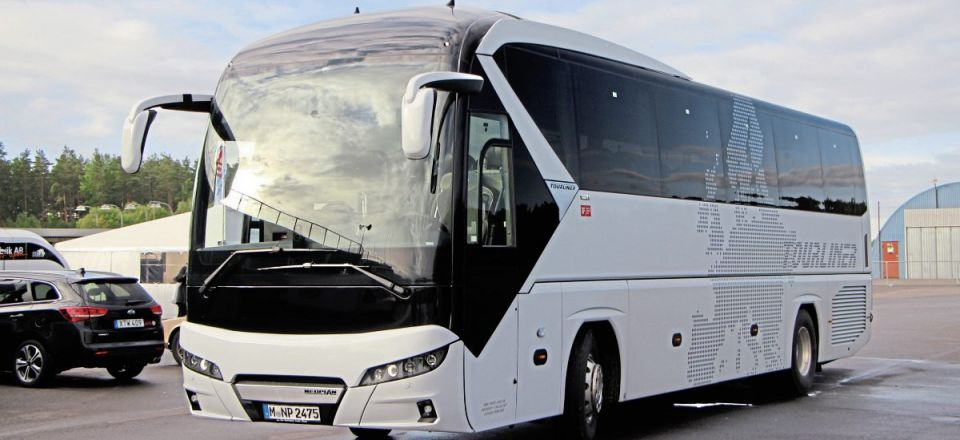 New-generation Tourliner is already a favourite with many UK operators, and this tabled 40-seater on test was of a high specification suitable for corporate hire