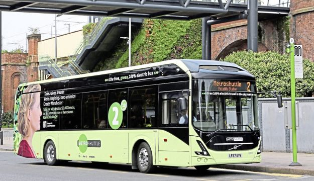 Volvo electrics launch in Manchester