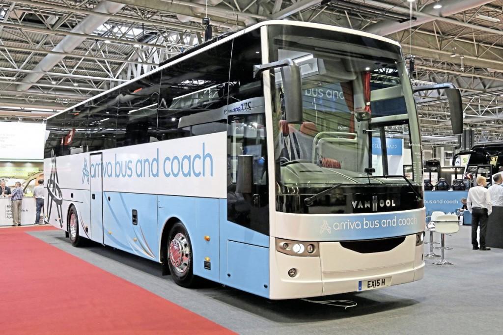 Arriva Van Hool EX15 H offside
