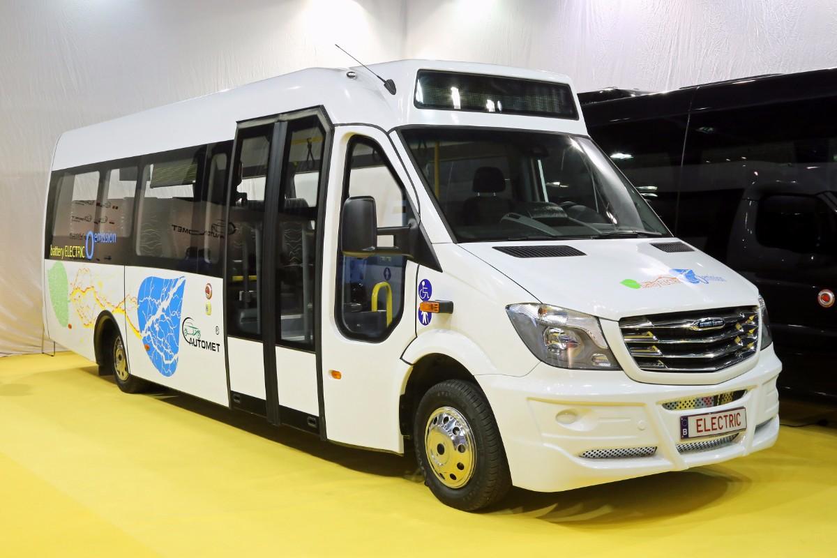 Automet electric minibus