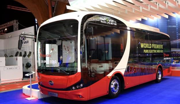 BYD electric midibus